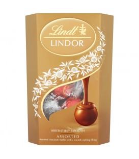 Lindt Lindor Assorted Pralinki z czekolady z nadzieniem 200 g