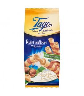 Tago Rurki waflowe z kremem orzechowym 160 g
