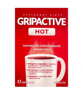 Gripactive Hot Suplement diety 6 saszetek