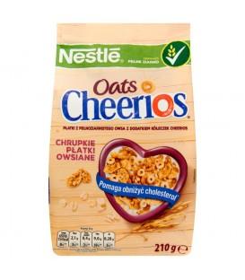 Nestlé Cheerios Oats Chrupkie płatki owsiane 210 g