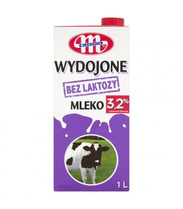 Mlekovita Wydojone Mleko bez laktozy 3,2% 1 l
