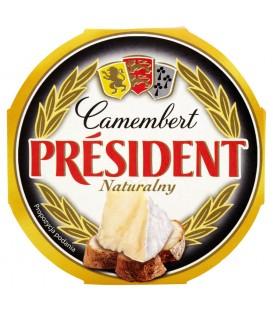 Président Camembert naturalny Ser 120 g
