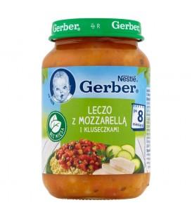 Gerber Leczo z mozzarellą i kluseczkami po 8 miesiącu 190 g