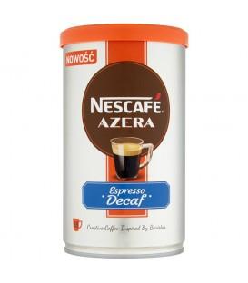Nescafé Azera Espresso Decaf Bezkofeinowa kawa rozpuszczalna 100 g