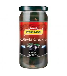 Primo Gusto Melissa Oliwki greckie czarne bez pestek 230 g