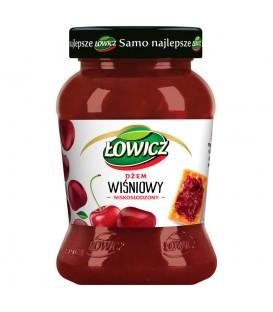 Łowicz Dżem wiśniowy niskosłodzony 450 g