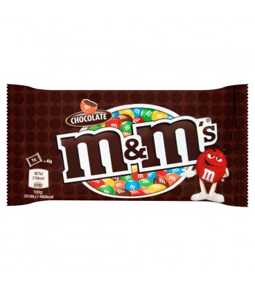 M&M's Chocolate Czekolada mleczna w kolorowych skorupkach 45 g