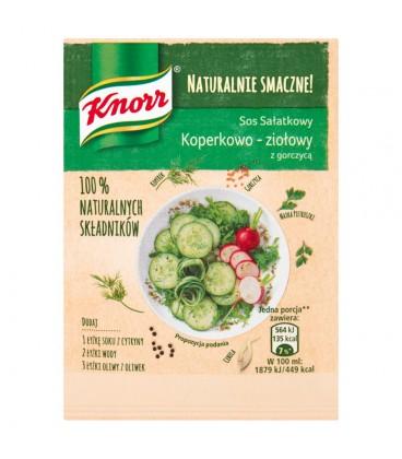 Knorr Sos Sałatkowy koperkowo-ziołowy z gorczycą 8,6 g