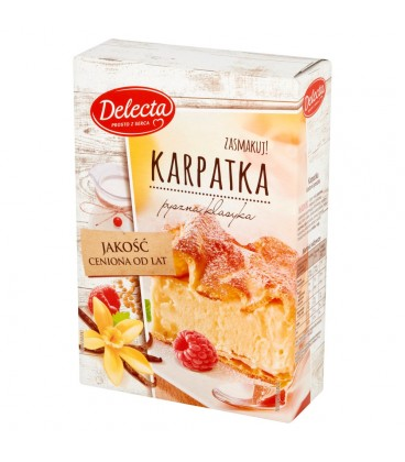 Delecta Karpatka Ciasto w proszku 390 g