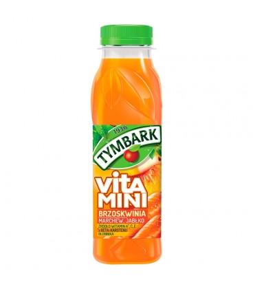 Tymbark Vitamini Brzoskwinia marchew jabłko Sok 300 ml