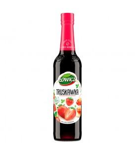 Łowicz Syrop o smaku truskawkowym 400 ml