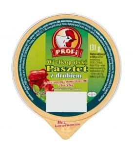 Profi Wielkopolski Pasztet z drobiem z suszonymi pomidorami i bazylią 131 g