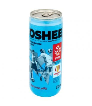 Oshee Napój izotoniczny gazowany o smaku wieloowocowym 315 ml