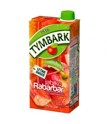 Tymbark Jabłko rabarbar Napój 1 l