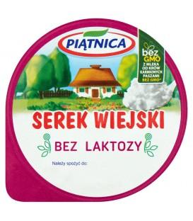 Piątnica Serek wiejski bez laktozy 200 g