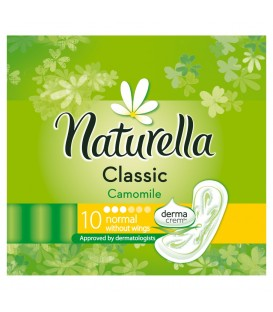 Naturella Classic Normal Camomile podpaski bez skrzydełek 10sztuki