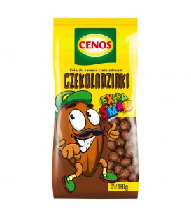 Cenos Czekoladziaki Kuleczki o smaku czekoladowym 180 g