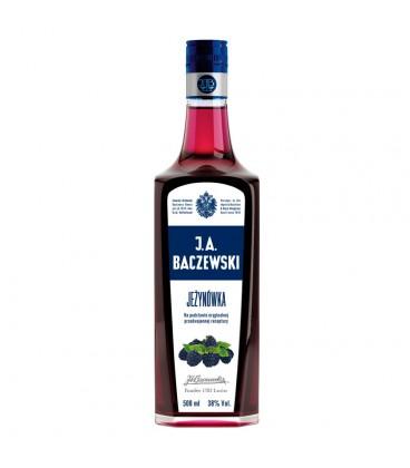 J.A. Baczewski Jeżynówka Napój spirytusowy 500 ml