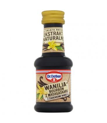 Dr. Oetker Ze świata natury Ekstrakt naturalny wanilia Bourbon z Madagaskaru 30 ml