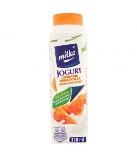Milko Jogurt czerwona pomarańcza 330 ml