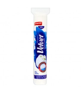 Velvet Natural Comfort Płatki kosmetyczne 120 sztuk