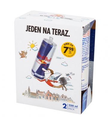 Red Bull Napój energetyczny 2 x 250 ml