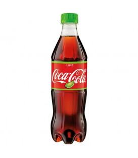 Coca-Cola Lime Napój gazowany 500 ml