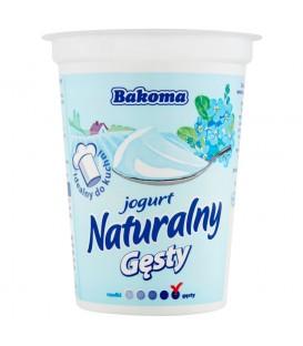 Bakoma Jogurt naturalny gęsty 390 g