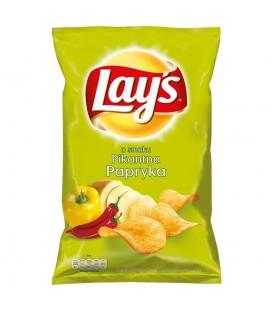 Lay's o smaku Pikantna papryka Chipsy ziemniaczane 140 g