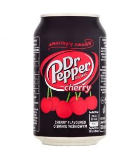 Dr Pepper Cherry Napój gazowany o smaku wiśniowym 330 ml