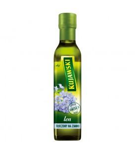 Kujawski len Olej tłoczony na zimno 250 ml