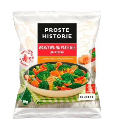 Proste Historie Warzywa na patelnię po włosku 450 g