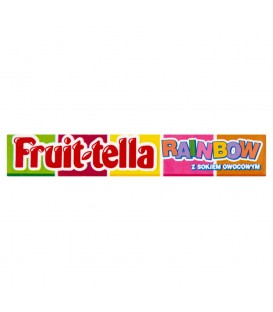 Fruittella Rainbow Cukierki do żucia 41 g