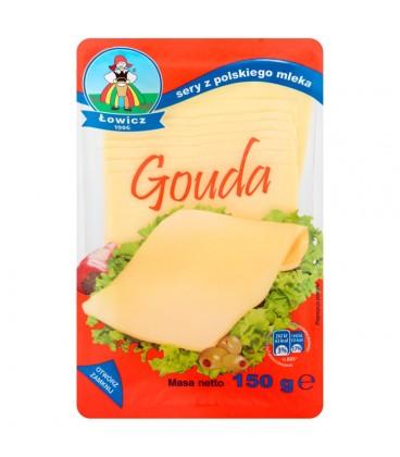 Łowicz Ser Gouda 150 g