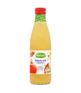 Marwit Świeży sok jabłkowy 250 ml