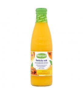 Marwit Świeży sok pomarańczowy 250 ml