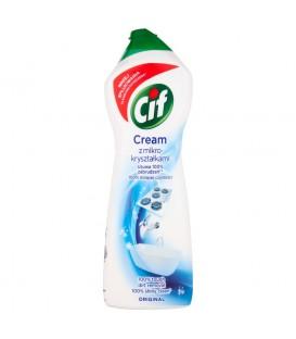 Cif Cream Original z mikrokryształkami Mleczko do czyszczenia powierzchni 780 g