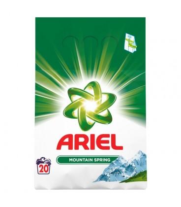 Ariel Mountain Spring Proszek do prania 1,5kg, 20prań