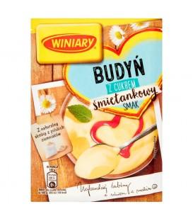 Winiary Budyń z cukrem śmietankowy smak 60 g