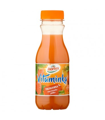 Hortex Vitaminka Truskawka marchewka jabłko Sok 300 ml