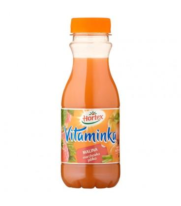 Hortex Vitaminka Malina marchewka jabłko Sok 300 ml