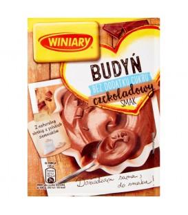Winiary Budyń bez dodatku cukru czekoladowy smak 38 g
