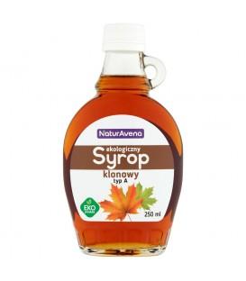 NaturAvena Ekologiczny syrop klonowy typ A 250 ml