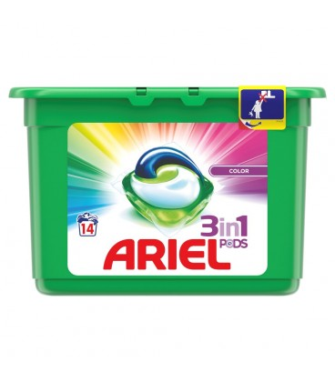 Ariel Color Kapsułki do prania jasnych tkanin, 14 prań