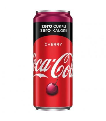 Coca-Cola zero Cherry Napój gazowany 330 ml