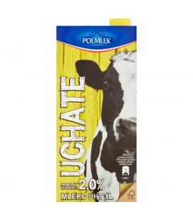 Uchate Mleko UHT 2,0% 1 l