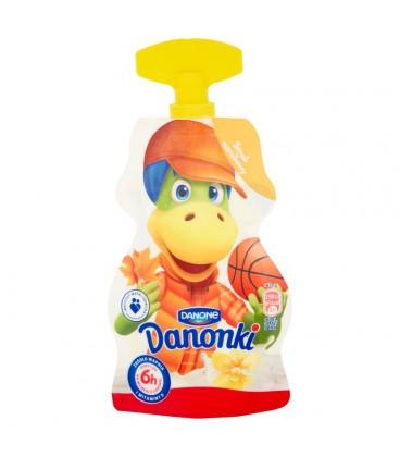 Danone Danonki smak waniliowy Jogurt 70 g