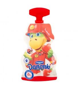 Danone Danonki truskawka Jogurt 70 g