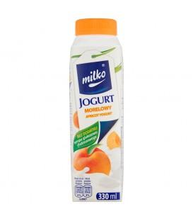 Milko Jogurt morelowy 330 ml