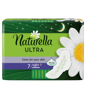 Naturella Ultra Night Camomile Podpaski x7
